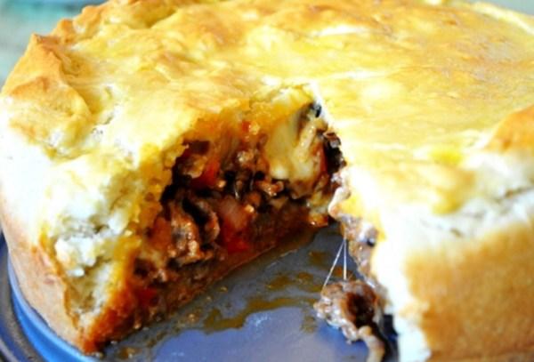 Rustic Sausage Pie