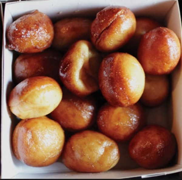 Maple Syrup-Soaked Doughnuts