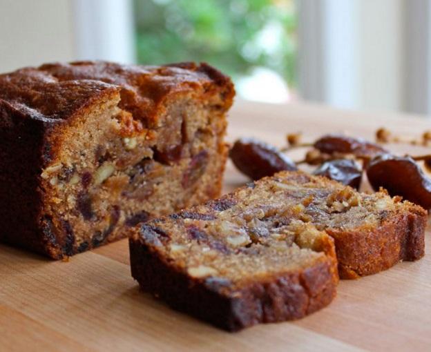 Honey Date Nut Bread