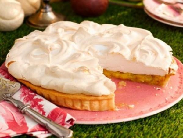 Gooseberry Meringue Pie