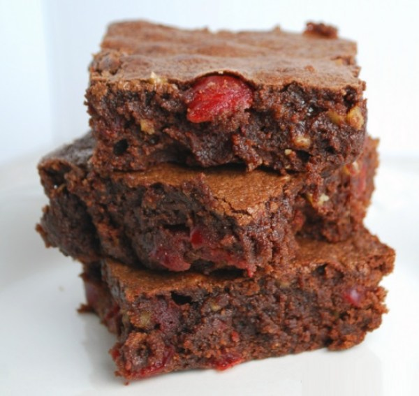 Cherry And Chocolate Brownies