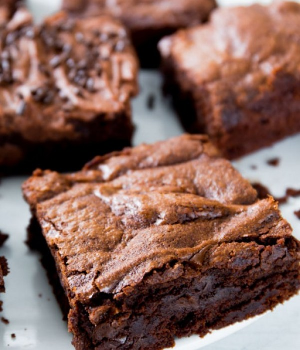 Chewy Fudge Chocolate Brownies