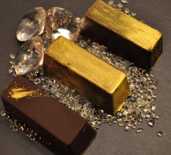 Golden Chocolate Candies