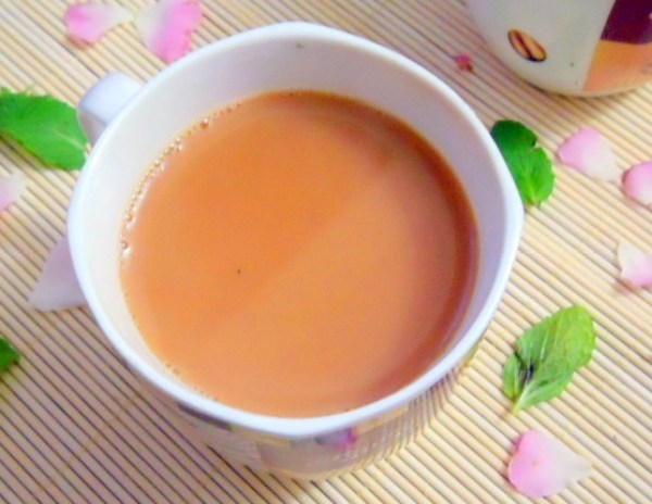 Homemade Indian Herbal Tea