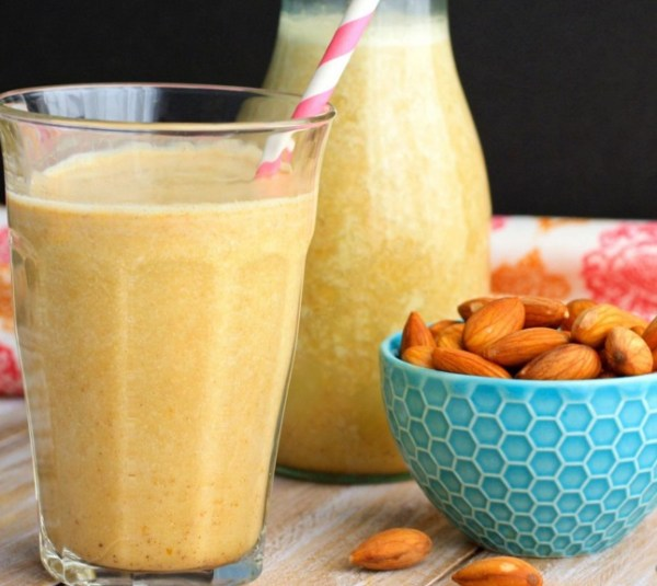 Pumpkin Spice Almond Milk