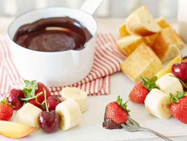 Salted Caramel And Chocolate Fondue