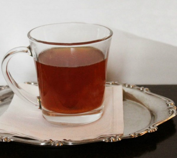 Hot Apple and Rum With Spiced Molasses