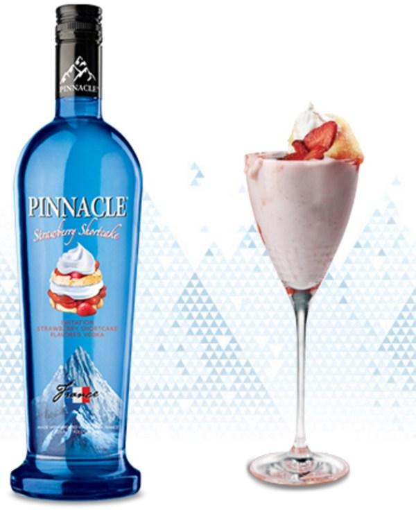 Pinnacle Strawberry Shortcake Cocktail