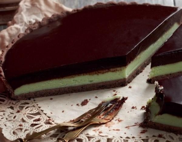 Chocolate Mint Tart