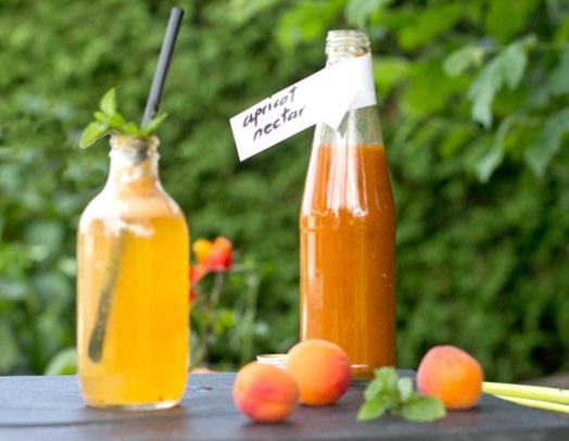 Apricot Nectar Lemonade