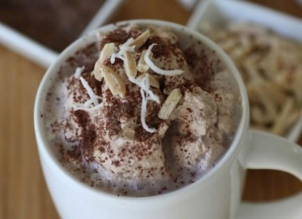 Triple-Chocolate Amaretto Bittersweet Hot Cocoa