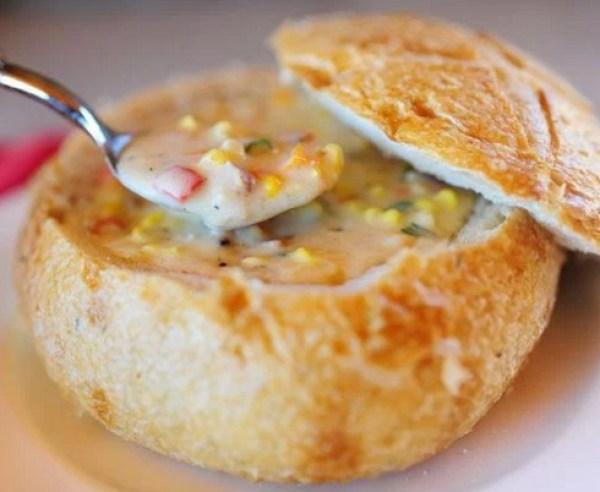Corn & Cheese Chowder Soup