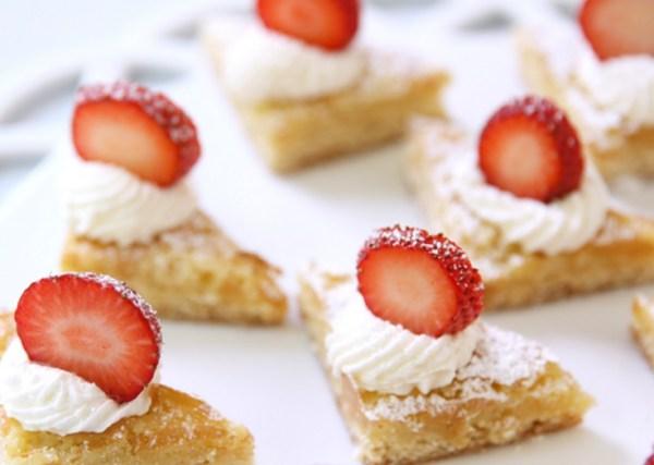Strawberry Shortcake Bites