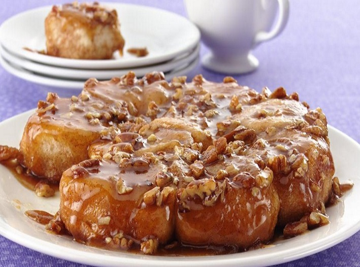 Easy Caramel Sticky Buns