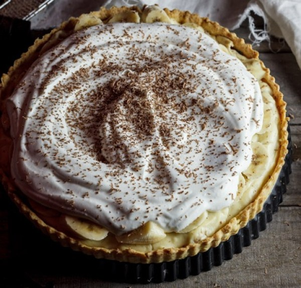 Traditional Banana Cream Pie