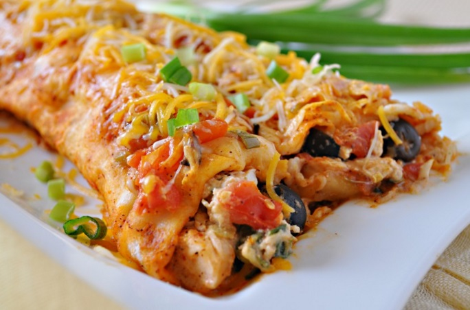 Chicken and Bacon Enchilada