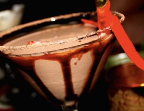Chocolate Chili Martini