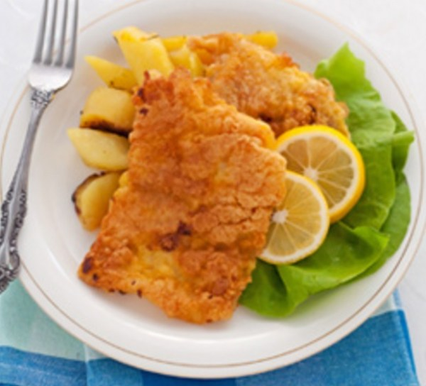 Cheez Doodle Crusted Tilapia