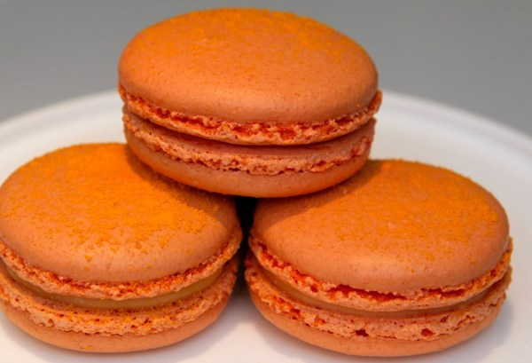 Cheese Doodle Macarons
