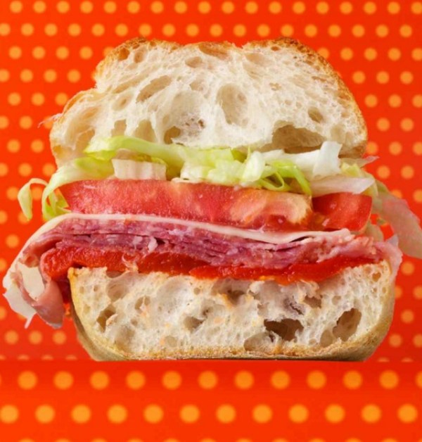 Captain Cold Cut Sandwich
