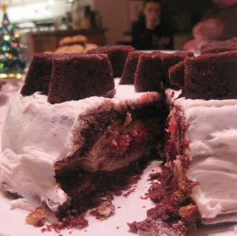 Chocolate & Cherry Pie