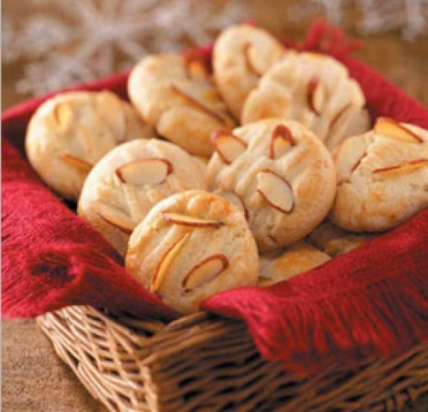 Traditional Chinese Almond Cookies