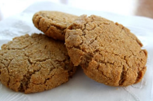 Chinese Ginger & Almond Cookies