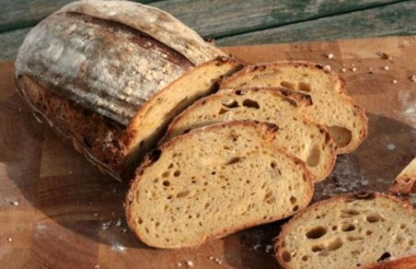 Roasted Pumpkin Sourdough Bread