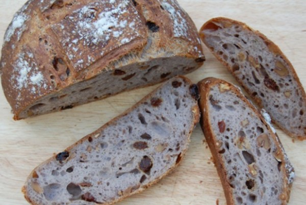 Walnut & Raisin Sourdough Bread