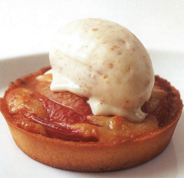 Peach And Amaretto Tart
