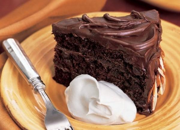 Chocolate & Amaretto Layer Cake
