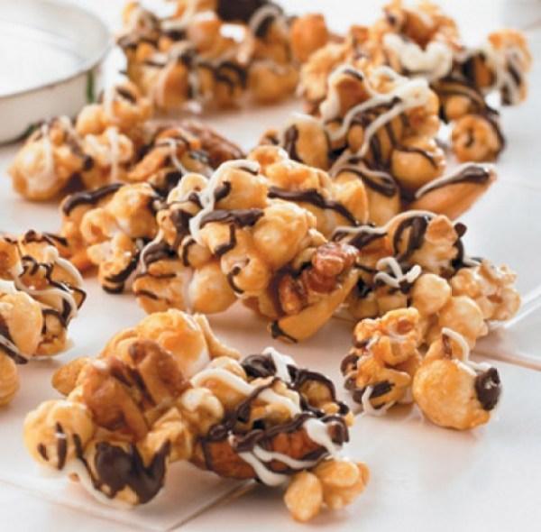 Chunky Caramel Popcorn
