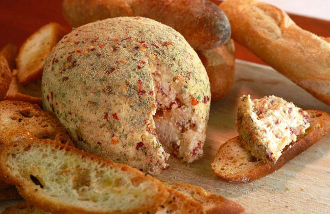 Pizza Cheese Ball