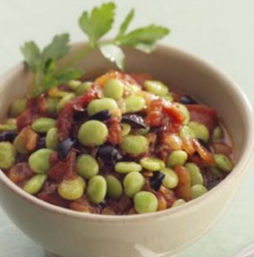 Mediterranean Lima Beans