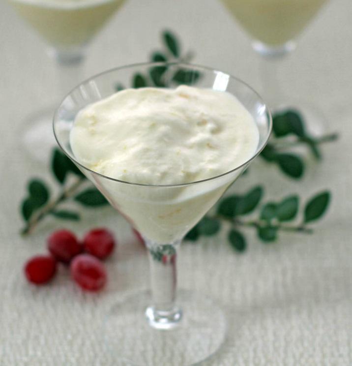 Lemon Chiffon Mousse