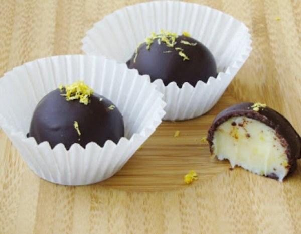 Lemon Chiffon Truffles