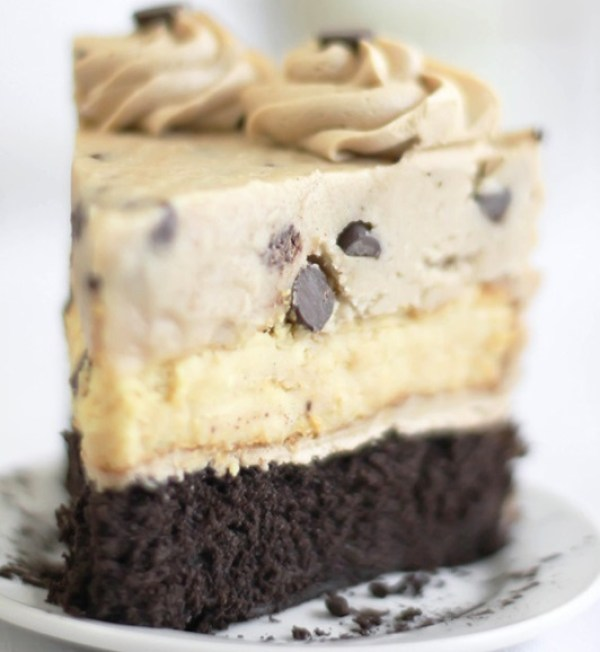Chocolate Chip & Cookie Dough Devil's Food Cake