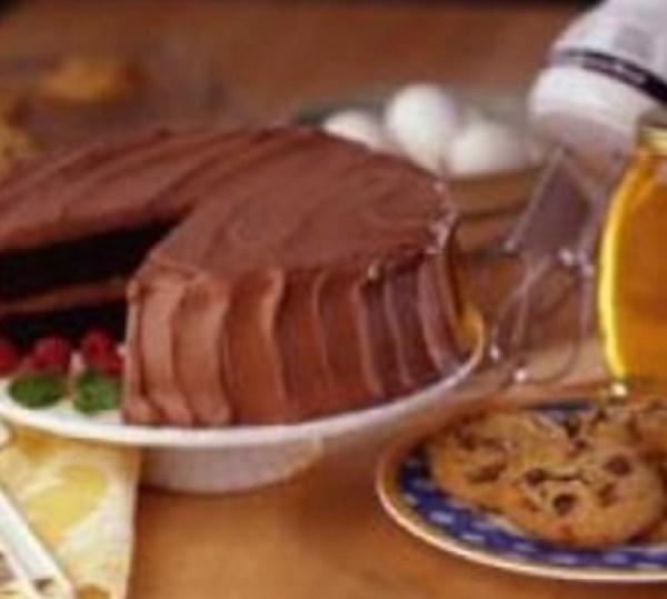 Honey Devil's Food Cake