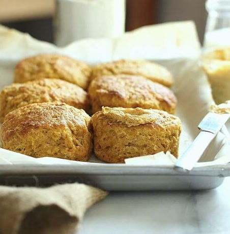 Pumpkin Buttermilk Biscuits