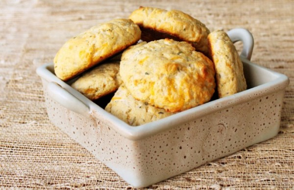 Cheddar & Herb Buttermilk Biscuits