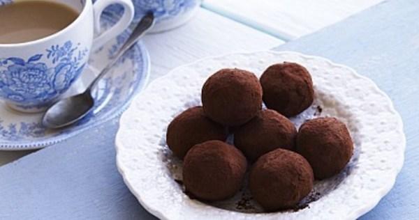 Clotted Cream Truffles