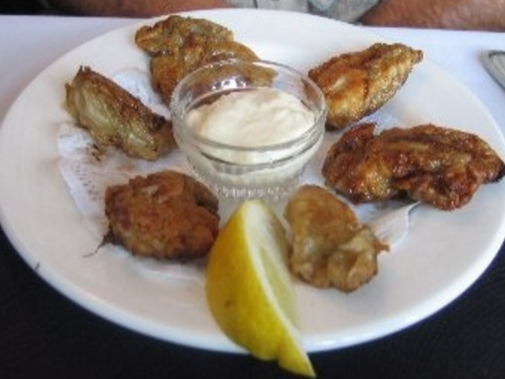 Pan-Fried Oysters