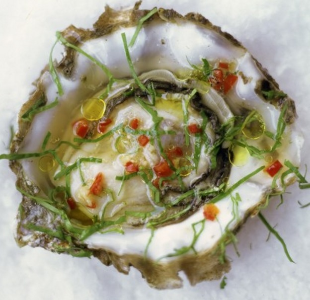 Chilli & Ginger Oysters