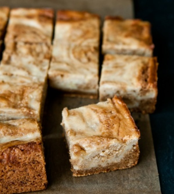 Banana & Butterscotch Brownies