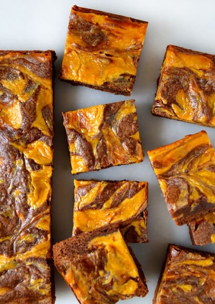 Butterscotch Cheesecake Brownies