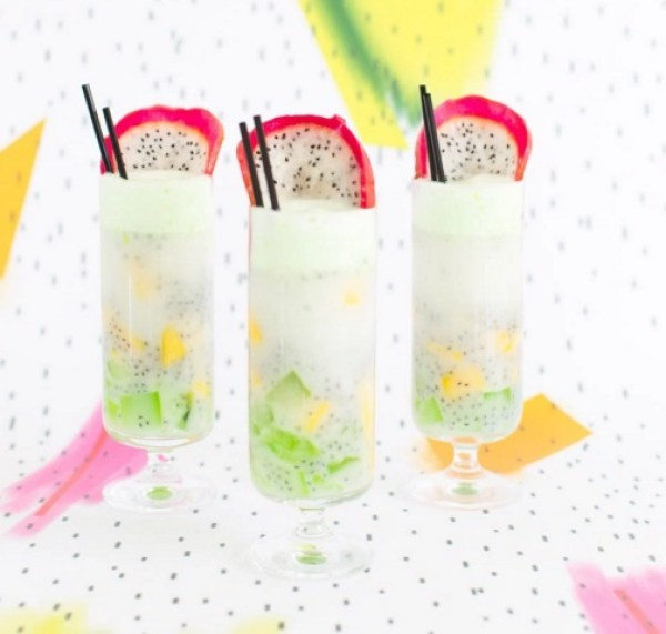 Dotted Thai Fruit Cocktail