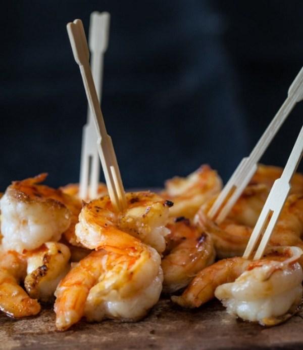 Miso Butter Shrimp