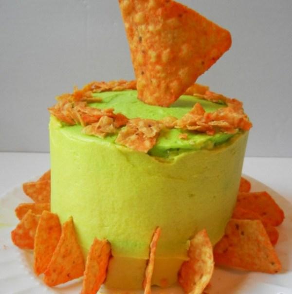 Mountain Dew Cake & Doritos