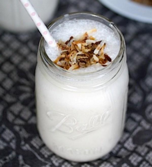 Vanilla Coconut Milkshake
