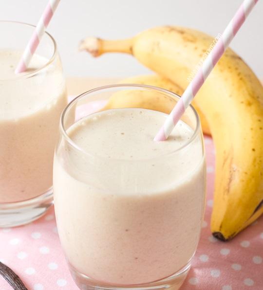 Banana & Vanilla Milkshake